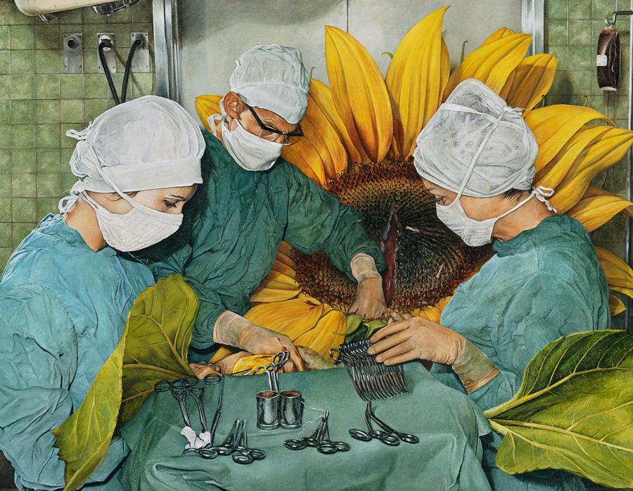 Трудно поверить, глядя на ее работы, что Лиза никогда нигде не училась живописи. Она является талант