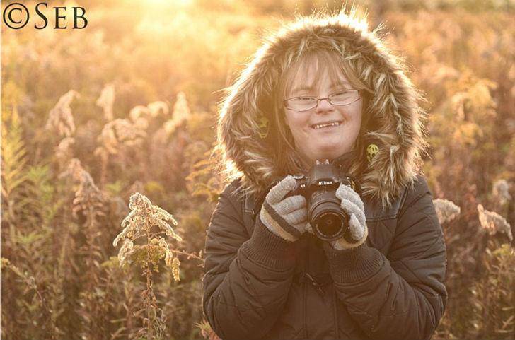Старшая дочь польского фотографа Кая.