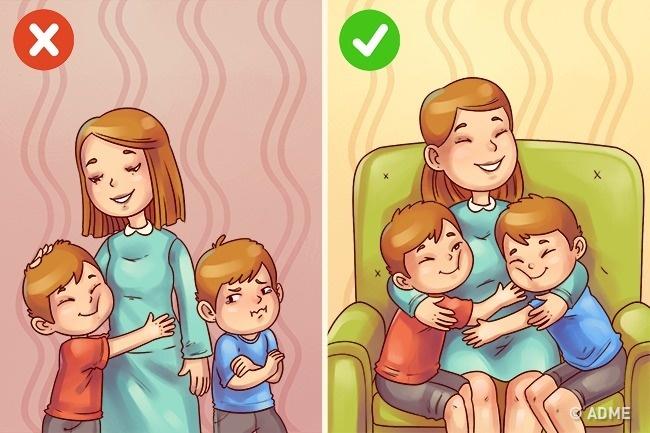 Порой родители сами провоцируют подобные конфликты, навешивая надетей ярлыки (например, что один из