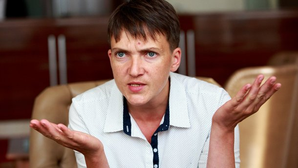 Савченко незахотела рассказывать СБУ опоездке вДонецк
