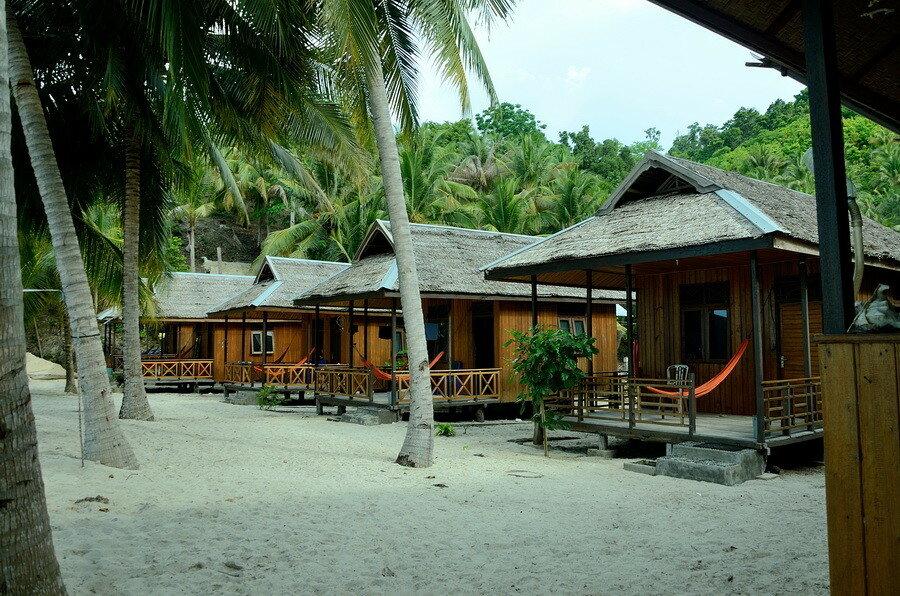 Домики у пляжа