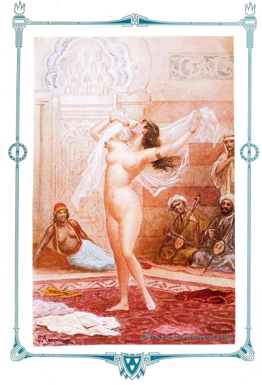 Египет . Рис.  49 «История танцев» С.Н. Худекова.