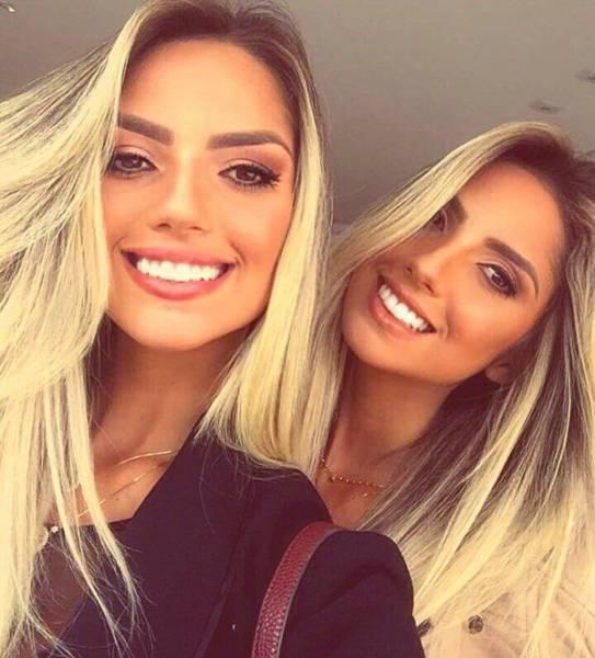 Сестры-близняшки Араужо из Бразилии
