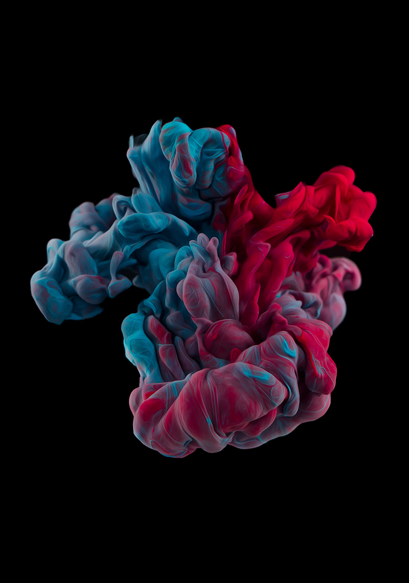 New Underwater Ink Plumes Photographed by Alberto Seveso