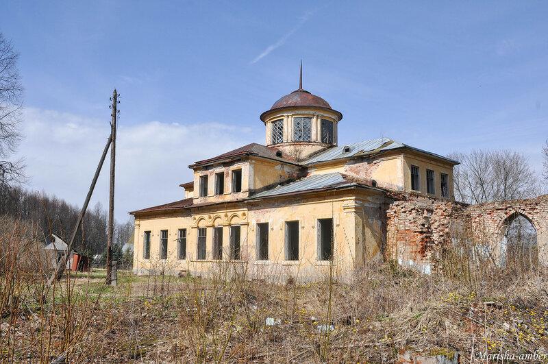 Майская Смоленщина, Васильевское, церковь в Баскаково, усадьба Голицыных-Муромцевых в Пречистом