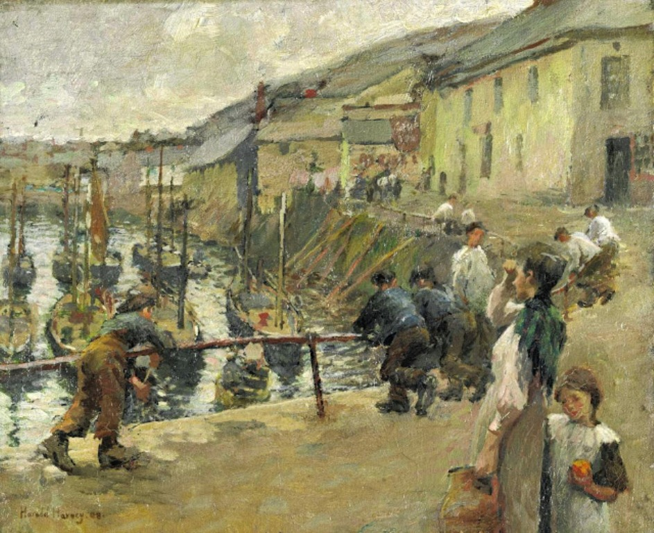 1 Harold Harvey, Mousehole, Newlyn.JPG