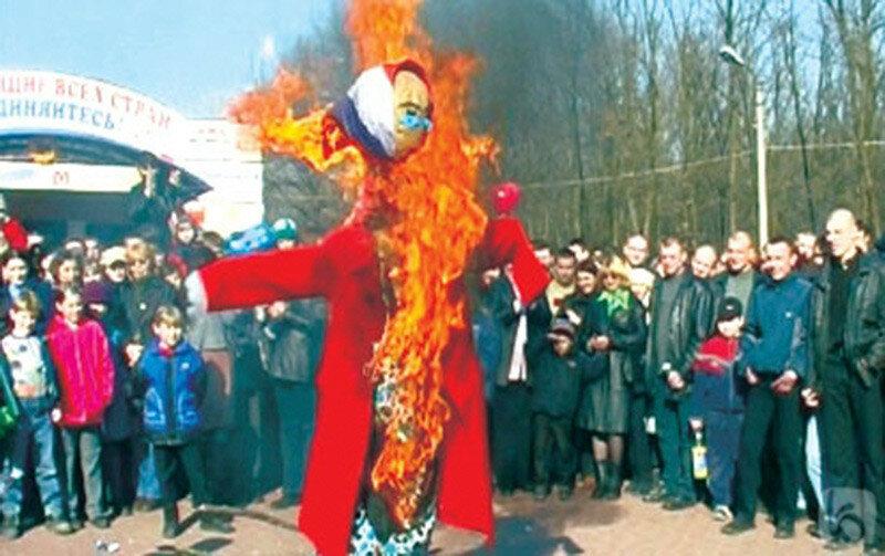 Масленица, Белгород, 2005, фото Белру