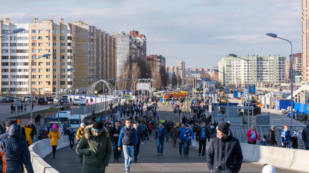 Новые мост и стадион