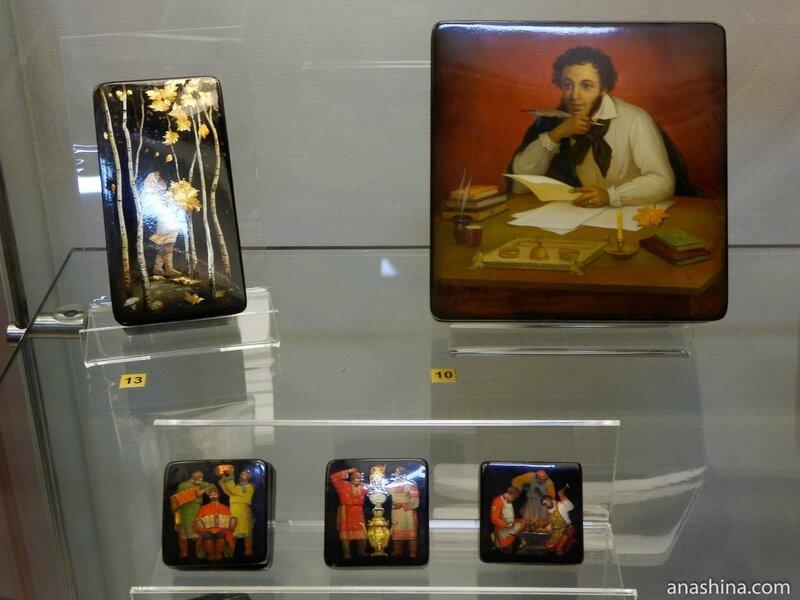 Русские мотивы, Федоскинская лаковая миниатюра
