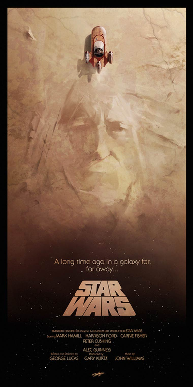 Posters Pop Culture - The beautiful illustrations by Andy Fairhurst