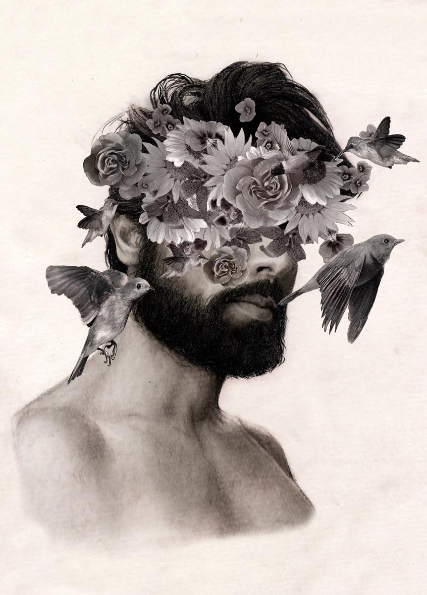 Os retratos hiper-realistas de Ritchelly Oliveira