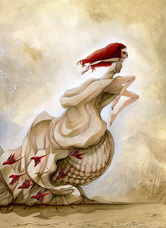Amazing Surreal Illustrations by Kmye Chan