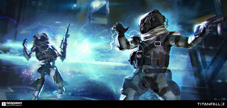 Titanfall 2 Concept Art by Hethe Srodawa