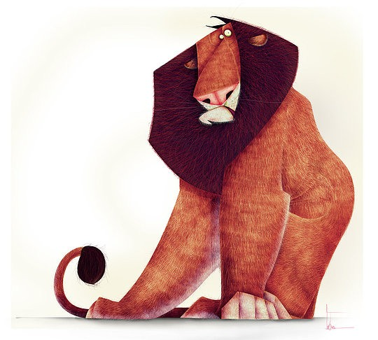 Funny Animal Illustrations by Jean Baptiste Vendamme