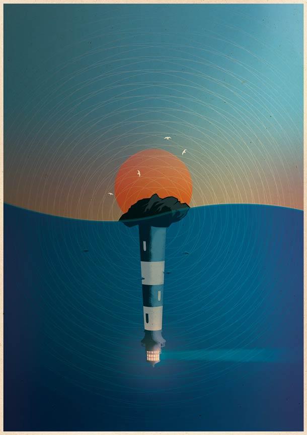 Giants - Les superbes illustrations de Matthew Griffin