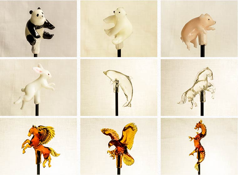 Amezaiku - The ancient Japanese art of realistic animal lollipops