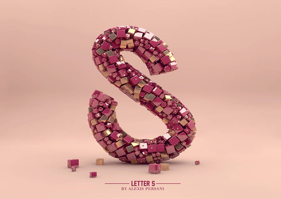 Futuristic Design Alphabet by Alexis Persani