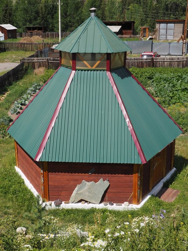 Алтай, Акташ – музей (Altai, Aktash – museum)