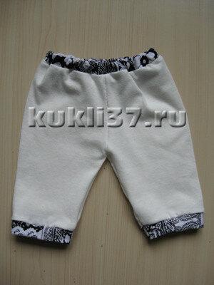 спортивные брюки для куклы