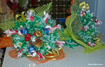 Рождественский букет из конфет