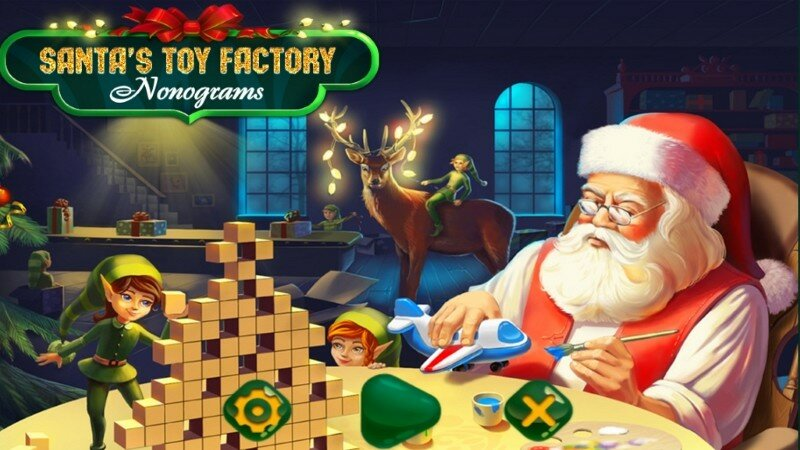 Santas Toy Factory Nonograms