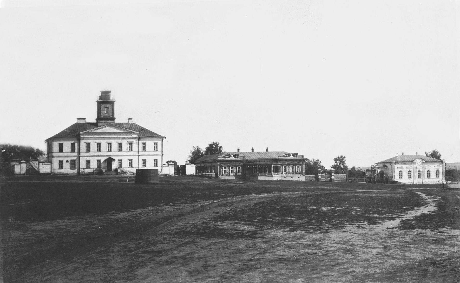 Здание Присутственных мест, земская управа, мужское училище
