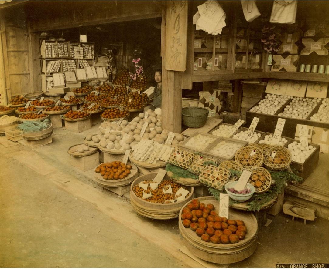 Торговцы апельсинами