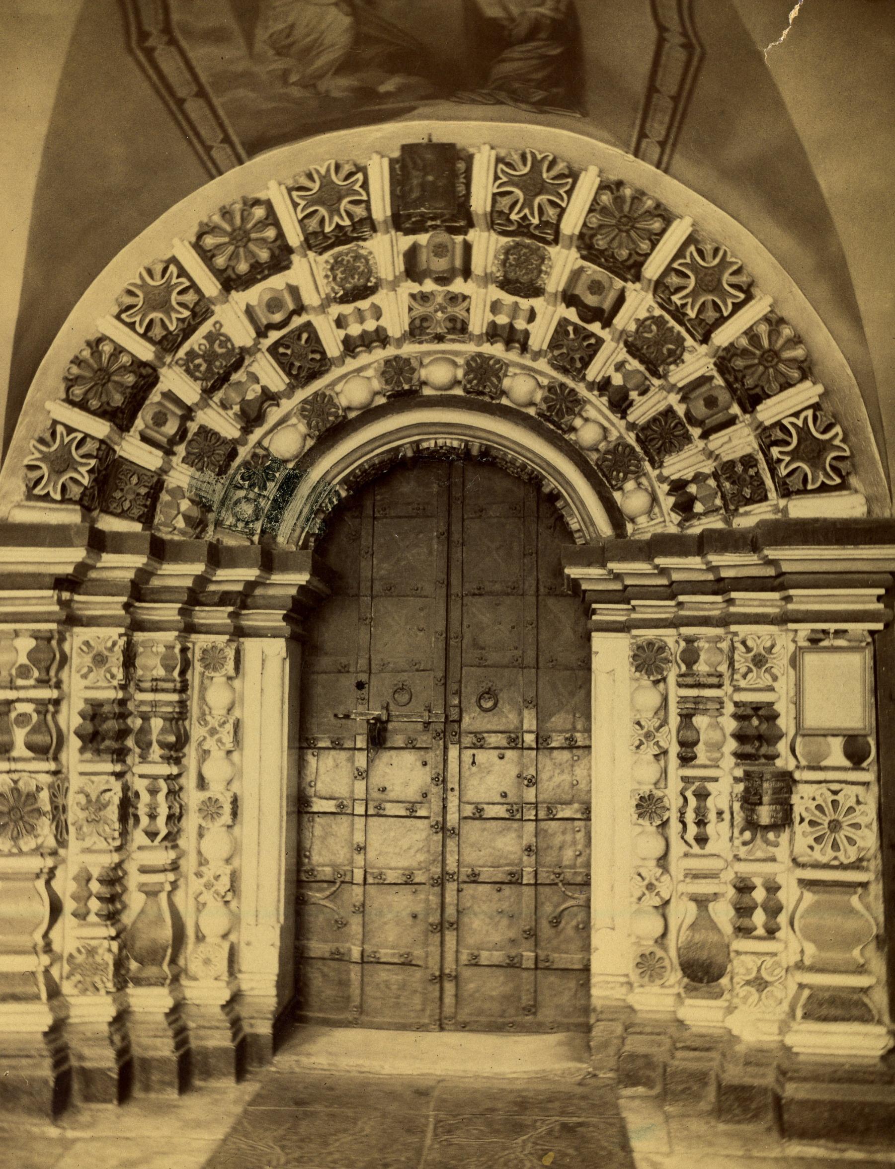 Благовещенский собор XVII в. Портал. 1894