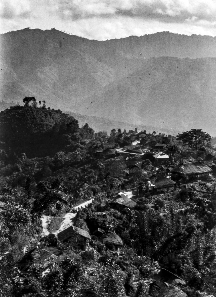 904. Вид деревни в области Шан