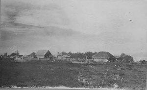Первые дома новоселов