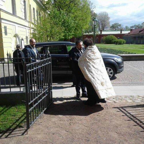 Цесаревич прибыл в Санкт-Петербург с Августейшим визитом