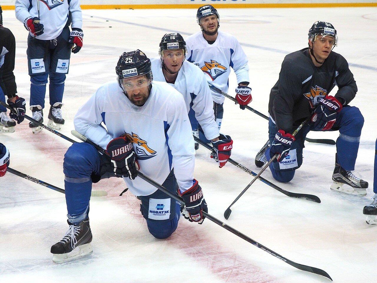 38 Открытая тренировка перед финалом плей-офф восточной конференции КХЛ 2017 22.03.2017