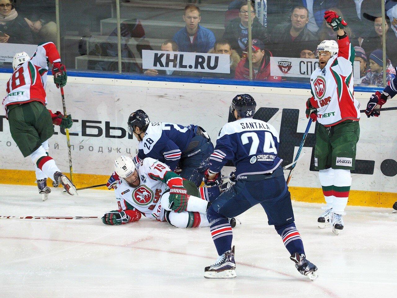 40 Первая игра финала плей-офф восточной конференции 2017 Металлург - АкБарс 24.03.2017