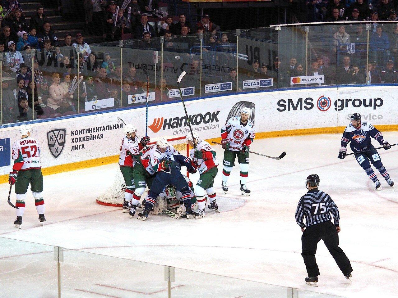 42 Первая игра финала плей-офф восточной конференции 2017 Металлург - АкБарс 24.03.2017