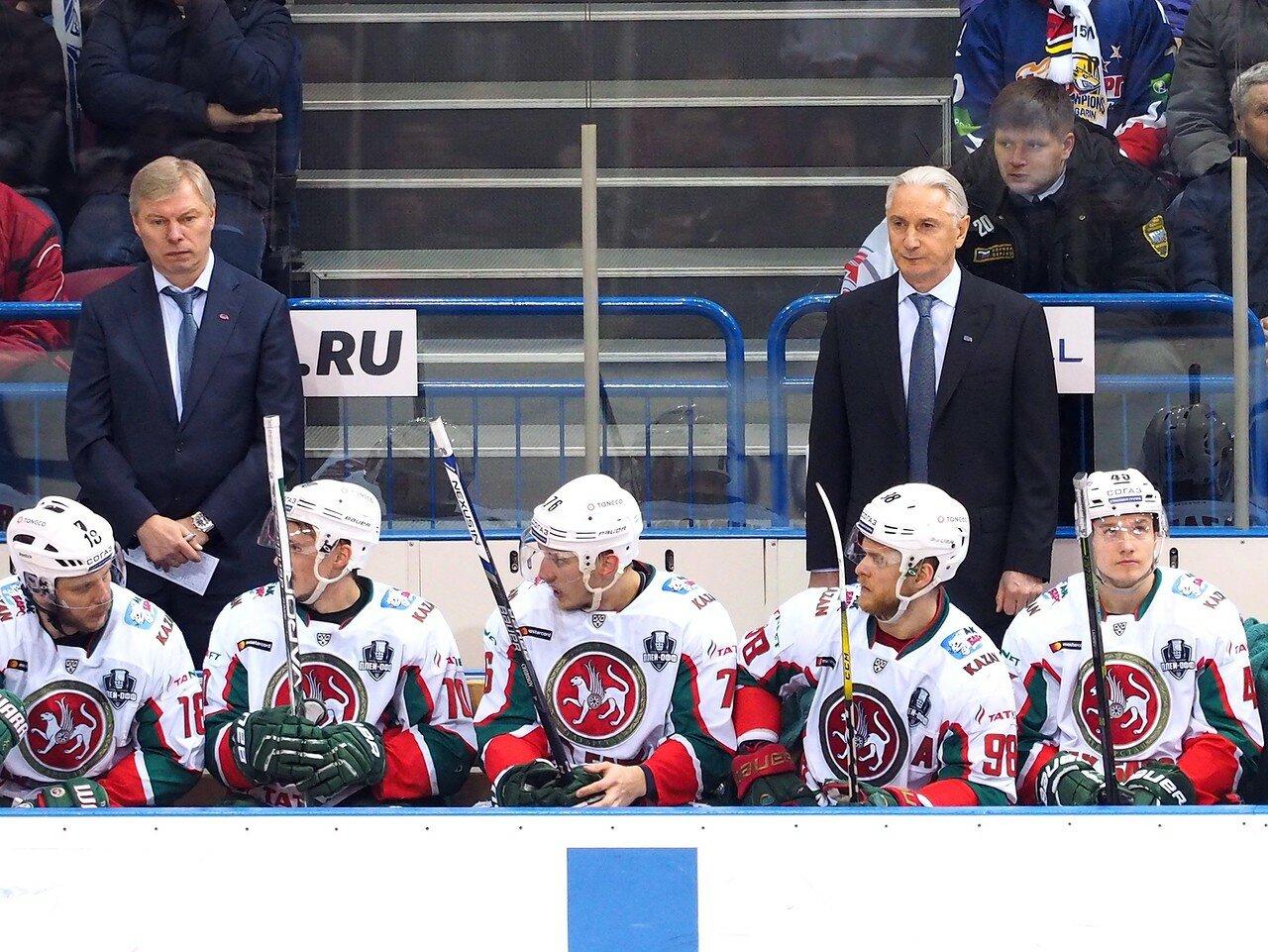 78 Первая игра финала плей-офф восточной конференции 2017 Металлург - АкБарс 24.03.2017