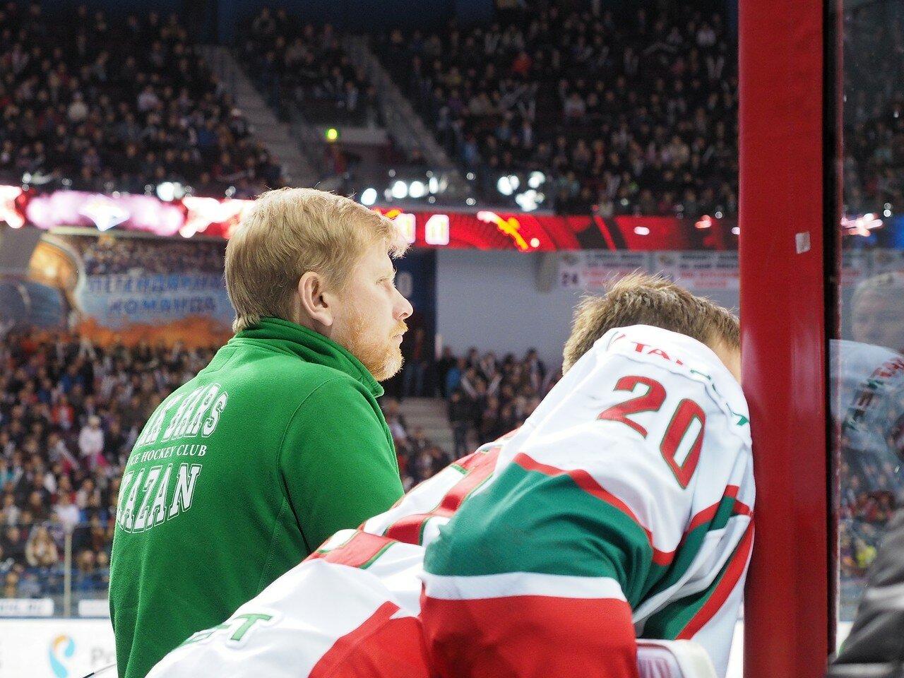 82 Первая игра финала плей-офф восточной конференции 2017 Металлург - АкБарс 24.03.2017