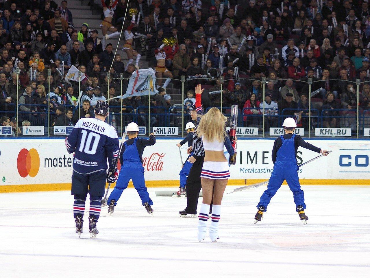 98 Первая игра финала плей-офф восточной конференции 2017 Металлург - АкБарс 24.03.2017