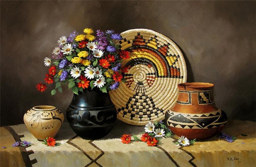«Индейские» натюрморты Rose Ann Day