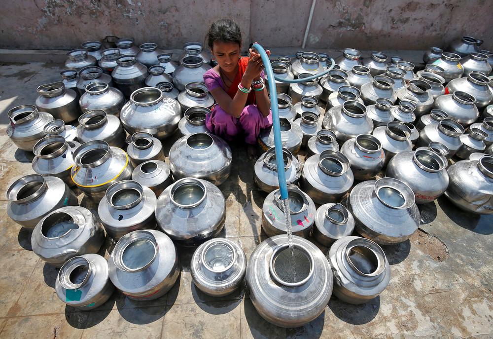 Снимки, сделанные в Индии на прошлой неделе