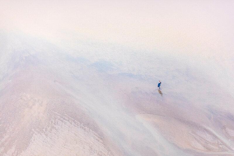 Южная Африка сверху: абстрактные и минималистичные аэрофотоснимки Зака Секлера