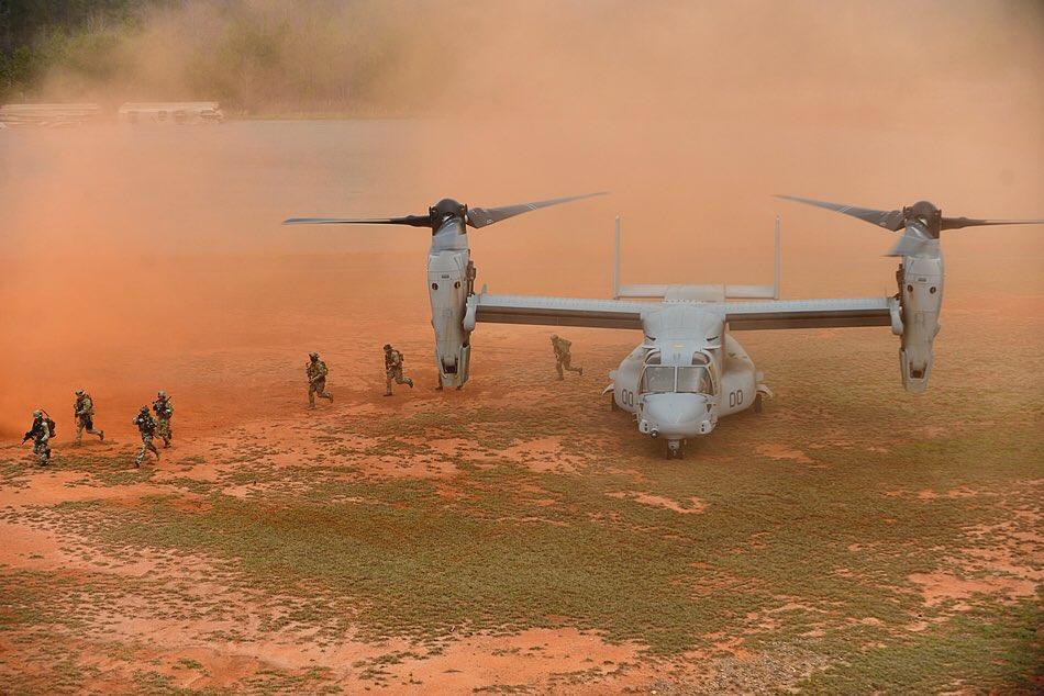 Первая боевая потеря конвертоплана MV-22 Osprey