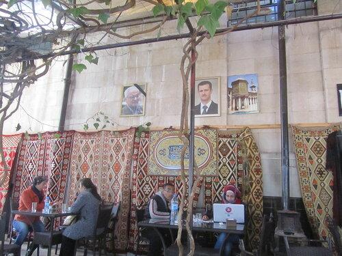 февраль 2017 НацМузей кафе Халед аль-Асад и Башар аль-Асад-1.JPG
