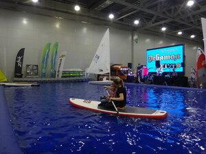 МосБотШоу выставка. SUP доски, каяки, байдарки, вёсла. Яхты,катамараны, моторы и катера.