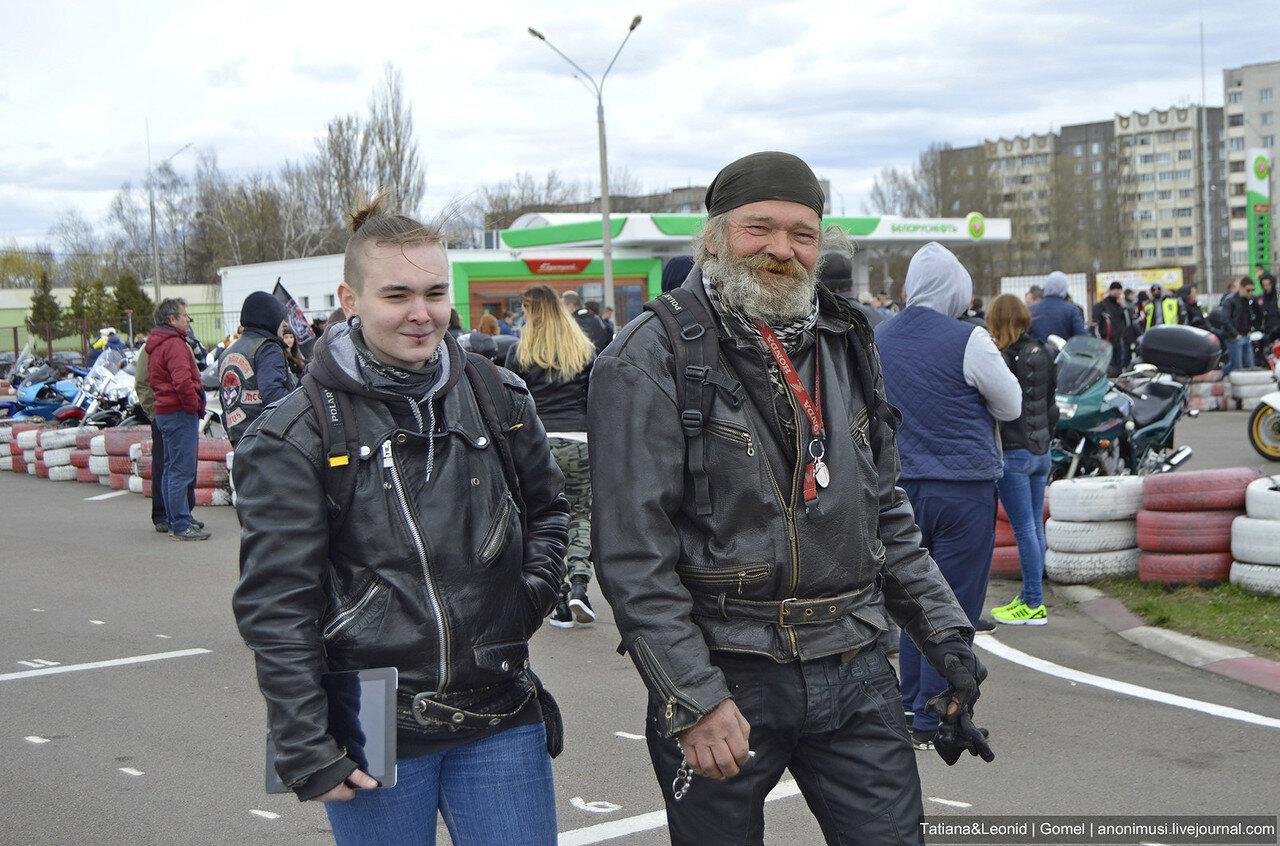 В Гомеле открыт байкерский  мотосезон
