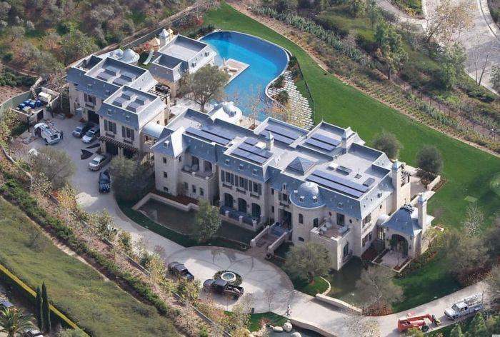 21. Жизель Бундхен и Том Брэди, дом в Лос-Анджелесе  Похожий на замок особняк топ-модели, ко