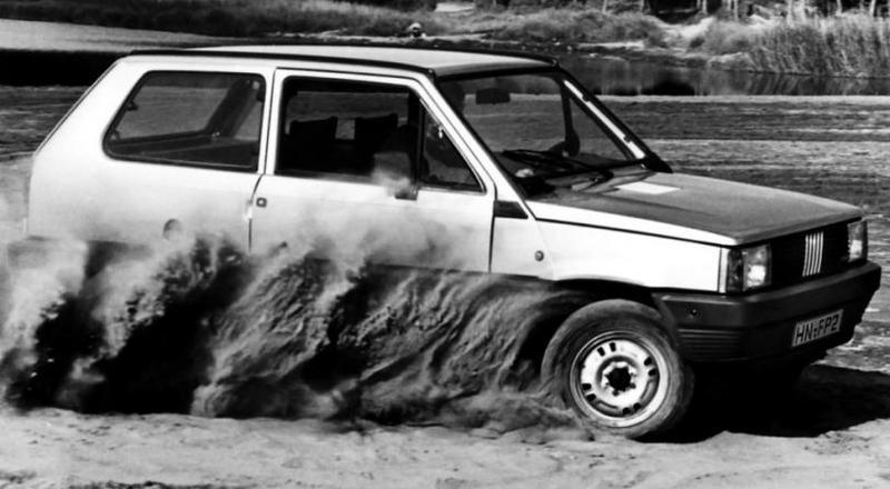 Fiat Panda 4×4 1983–86 В июле 1984 года с конвейера сошел миллионный автомобиль. В 2003