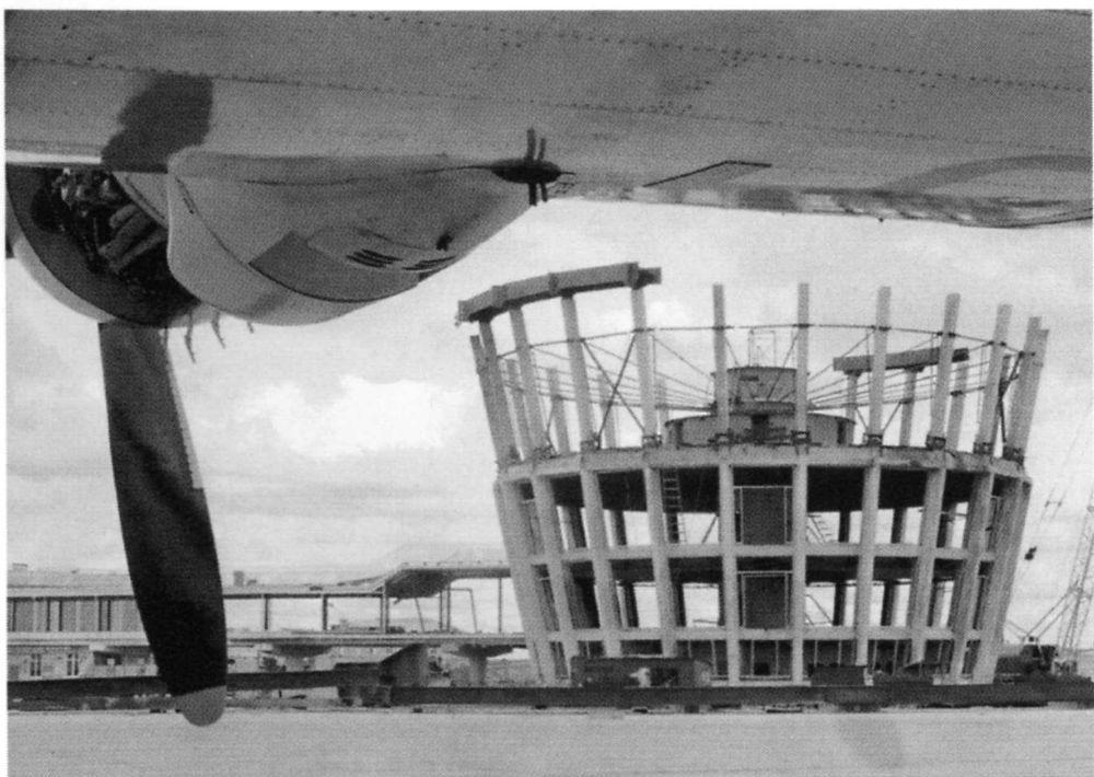 Строительство «Рюмки», 1964 год.