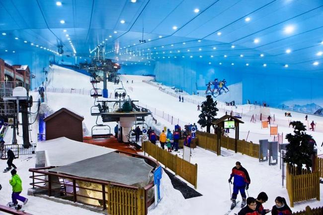 © Ski Dubai/Facebook  Купить себе верного коня.