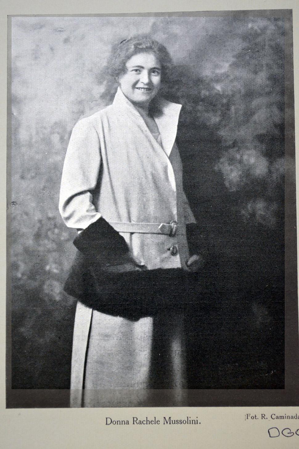 Супруга диктатора донна Ракеле Муссолини в 1924 году. Universal History Archive/REX/Shutterstock Что