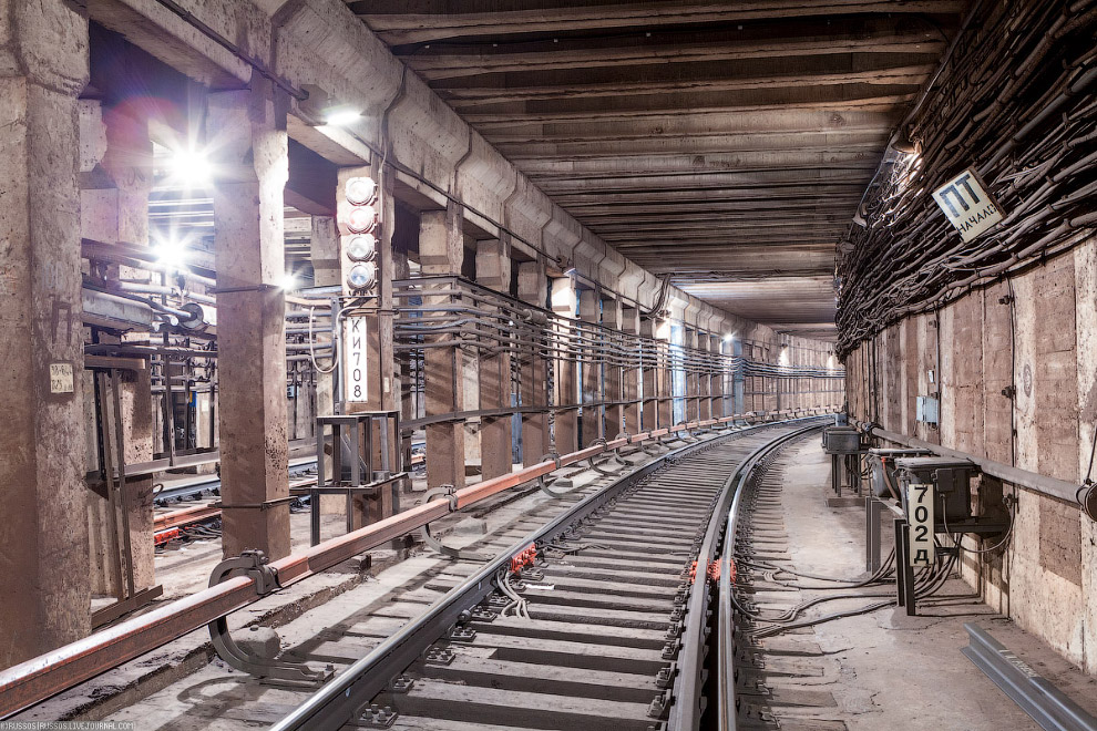10. Средняя стоимость строительства 1 километра Московского метрополитена — 2,2 млрд руб.